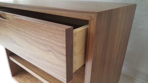 Custom Made Walnut Nightstand