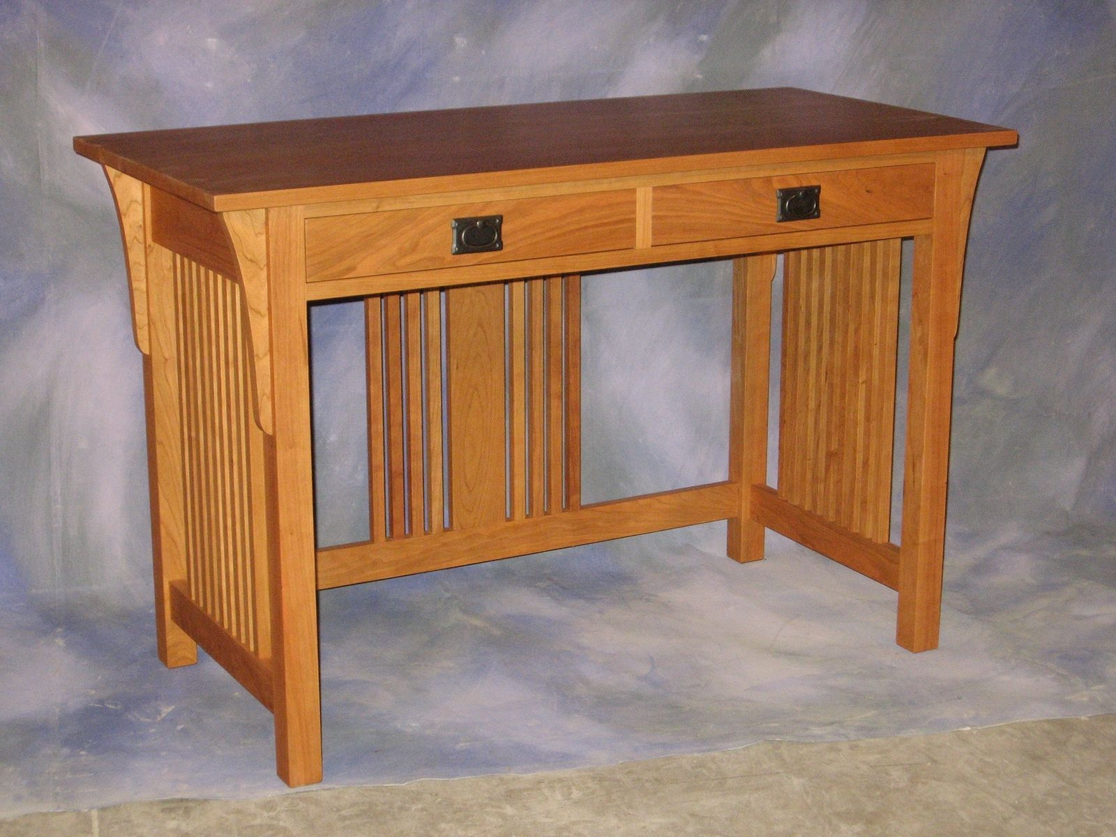 Handmade Mission Writing Desk by Schanz Furniture And Refinishing ...