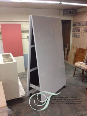 Custom Made Office:  Moving Whiteboard Wall