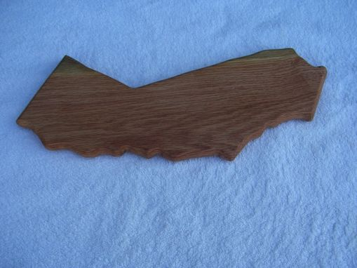 Custom Made California State Cutting Board Made Of Walnut 5