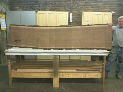 Custom Made Black Walnut Slabs