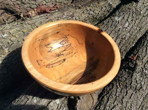 Custom Made Spalted Beech Bowls