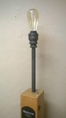 Custom Made Industrial Whiskey Desk Lamp
