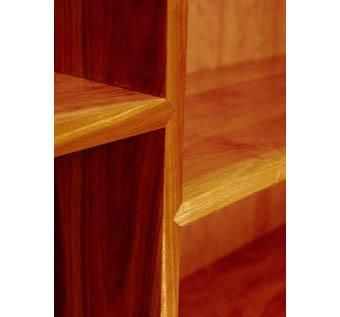 Custom Made Dovetailed Bookcase