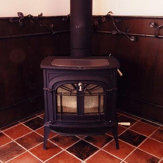 Custom Wood Stove Heat Shield by Steve Fontanini ...