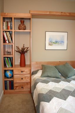 Custom Made Maple Wall Bed