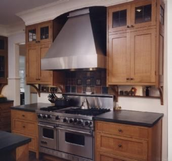 Custom Made Custom Quater Sawn White Oak Kitchen