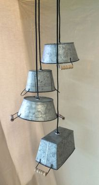 Custom Made Mini Bucket Chandelier