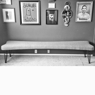 Custom Made Upholstered Bench Up To 8 Feet Without A Center Support