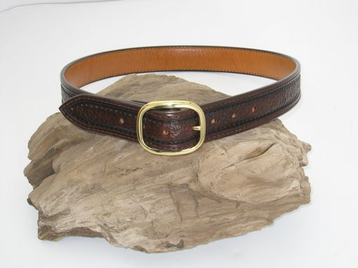 Custom Made Hand Made Leather Belt
