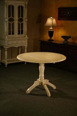 Custom Made European Kitchen Table
