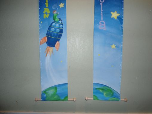 Custom Made Canvas Growth Chart