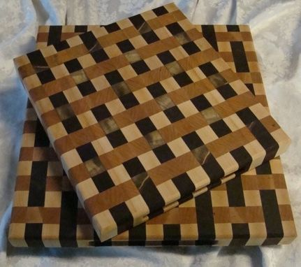 Custom Made Weaved Cutting Board