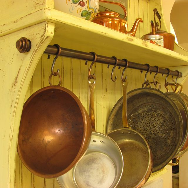 Hand Made Copper Pot Rack & Hooks by Werken Design | CustomMade.com