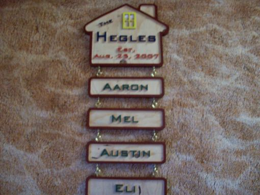 Custom Made House Signs