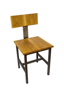 Custom Made Modern Square Top Dining Chair