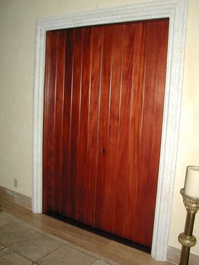 Custom Made Tongue And Groove Doors