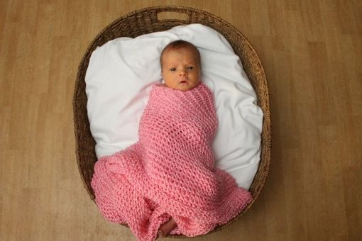 Custom Made Handknit Baby Blankets