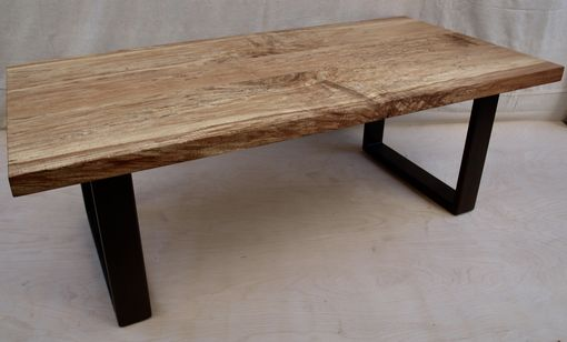 Custom Made Spalted Maple Coffee Table