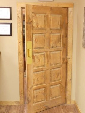 Custom Made Doors And Wainscot Panels