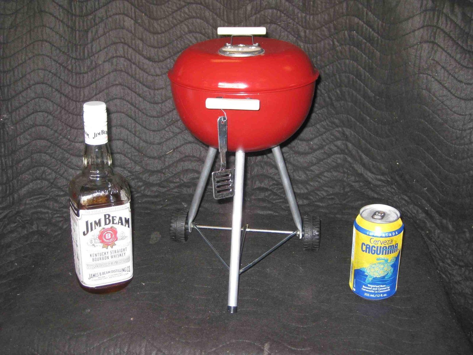 custom mini weber bbq grill props by lucky13 design build. Black Bedroom Furniture Sets. Home Design Ideas