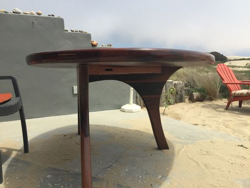 Custom Made Recycle Redwood Table