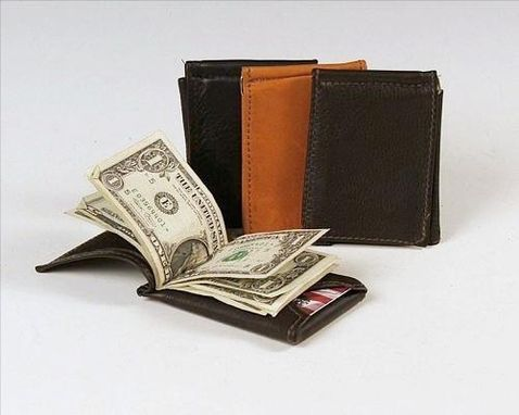 Custom Made Money Clip Wallet