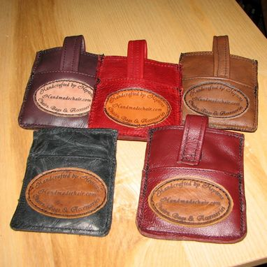 Custom Made Leather Phone Holsters