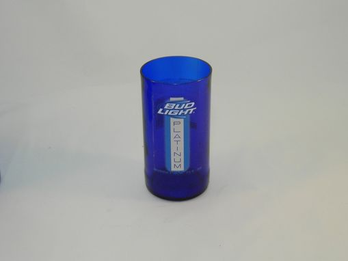 Custom Made Beer Bottle Tumbler: Bud Light Platinum 10oz