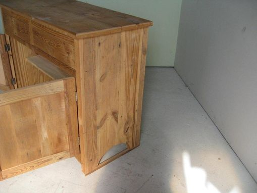Custom Made 2 Door Old Barnwood Server