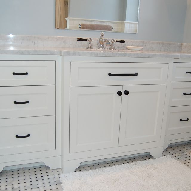 Hand Made Wide Single Bathroom Vanity By John Samuel Custom Cabinetry Custommade