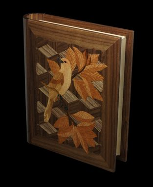 Custom Made Wooden Book-Bird