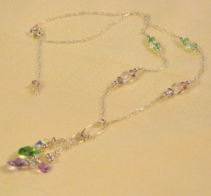 Custom Made Wedding Or Special Occasion  Crystal Or Pearl Necklaces