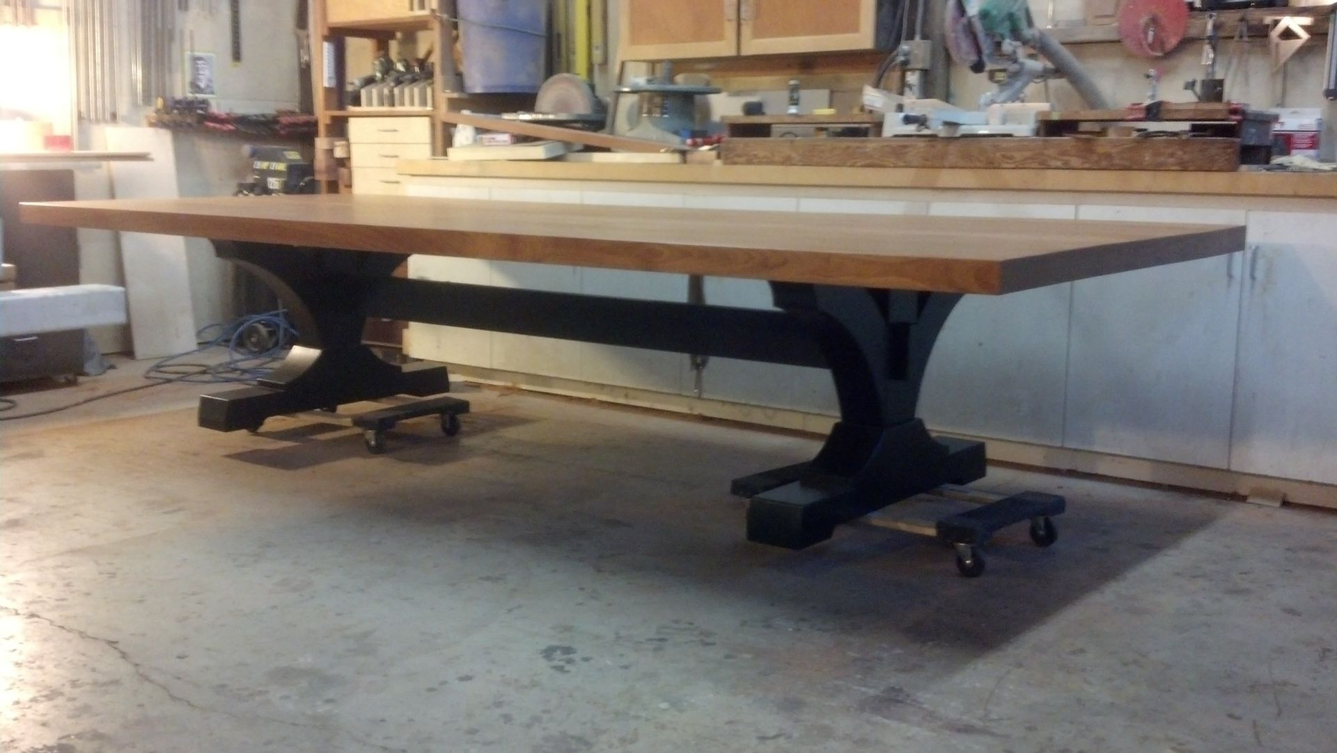 Hand Crafted Extra Large Family Dining Table By Puddle