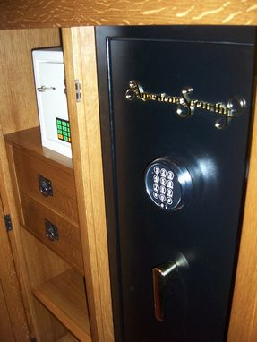 Custom Made Mission Style Gun Safe Cabinet By Cibolo