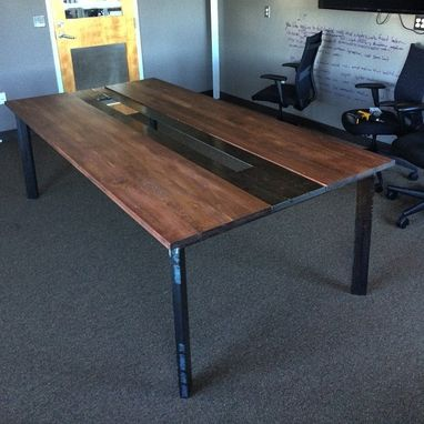 Custom Made Modern Industrial Conference Tables