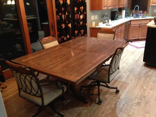 Custom Made Alder Dining Room Table