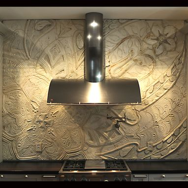 Custom Made Kitchen Backsplash
