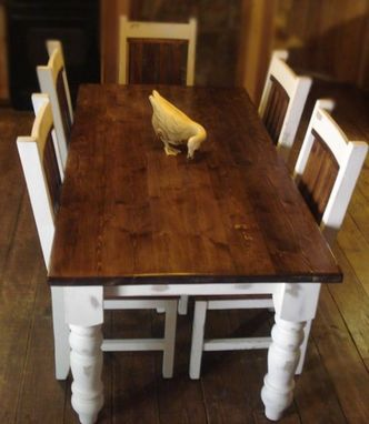 Custom Made Classic Country Dining Table