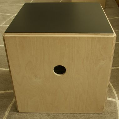Custom Made Living Room Cube Tables