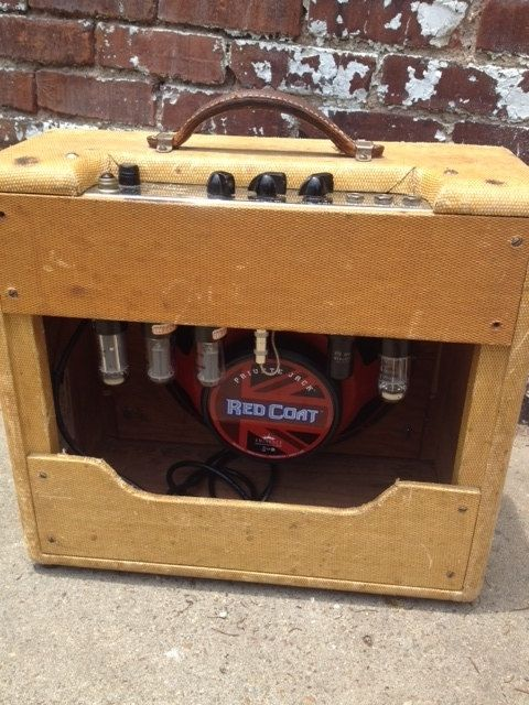 Hand Crafted Guitar Amp On Sale Fender Deluxe Tv Front