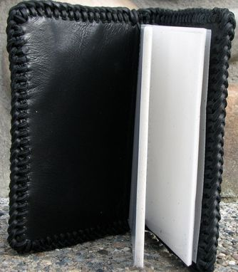 Custom Made Small Hand Tooled Leather Photo Album/Memory Book