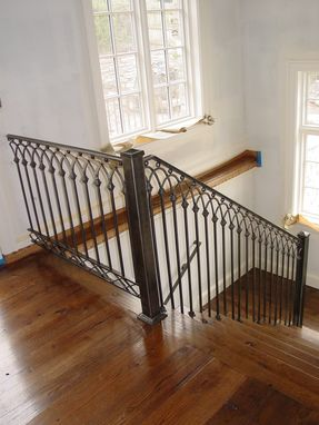 Custom Made Stair Rail