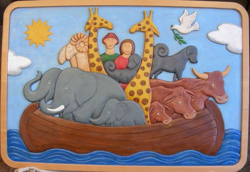 Custom Made Noah's Ark