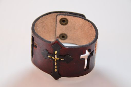 Custom Made Original Designed Leather Bracelet