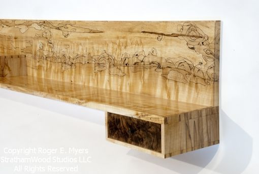 "Custom Made Wall Shelf ""Seascape"""