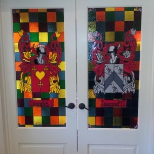 Donna Terraza Stained Glass