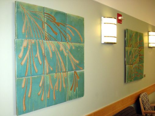 Custom Made Wall Tiles, Hospital Waiting Room