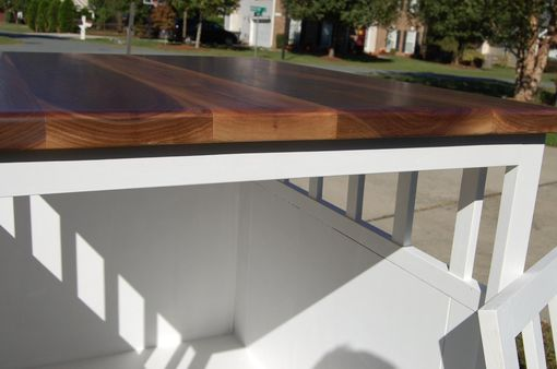 Used Dog Crates >> Hand Made End Table/Low Shelf To Be Placed Over Dog Crates by JHO Studios LLC | CustomMade.com