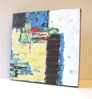 Custom Made Acrylic Abstract Expressionist, Original Painting On Canvas